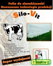 Folia do sianokiszonki SILO-VIT PREMIUM 750mm