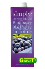 Smoothie Simply Blueberry-Blackberry /puree borówkowo-jeżynowe - 1l