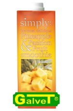 Smoothie Simply Pineapple-Passion Fruit/pulpa z owoców ananasa i marakui - 1l