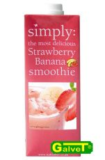 Smoothie Simply Banana - Strawberry/puree bananowo-truskawkowe - 1l